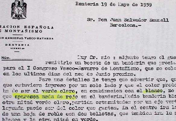 Congreso Montañero Arrate 1959