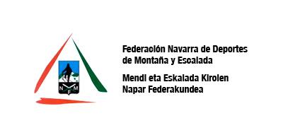 Logotipo Mendi eta Eskalada Kirolen Napar Federakundea