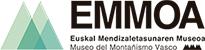 Logotipo EMMOA Euskal mendizaletasunaren museoa.