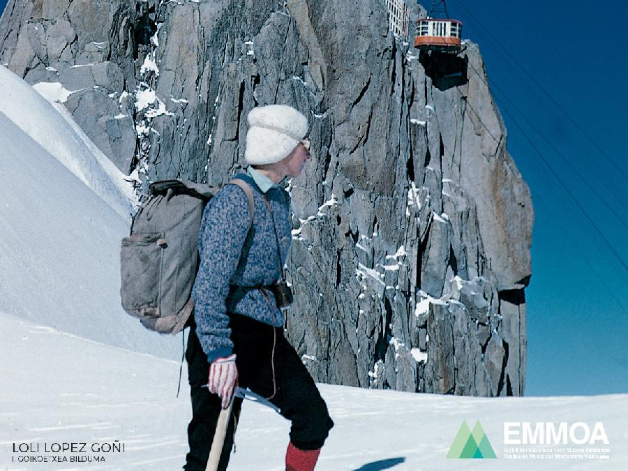 Fallece Loli Lopez Goñi. Pionera en el alpinismo vasco