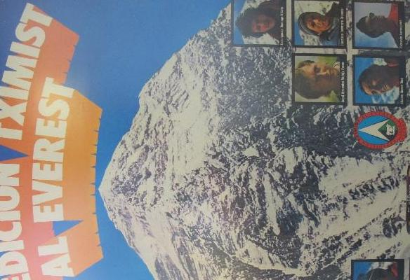 Cartel - Expedición Tximist al Everest 1974