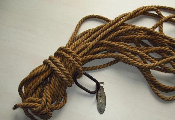 Cuerda de Cáñamo donada por Periko Gabiria (Legazpia)
